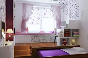 3 mẫu phòng ngủ cho căn hộ tiết kiệm không gian