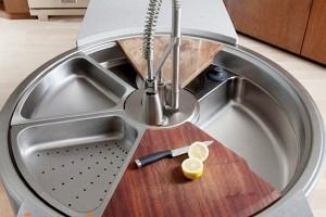 Bồn rửa bát thông minh - giải pháp cho nhà bếp chật hẹp