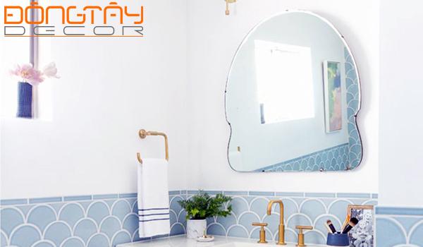 Những chiếc gương có kiểu dáng lạ hứa hẹn sẽ tạo nên trào lưu trong trang trí nhà 2016.