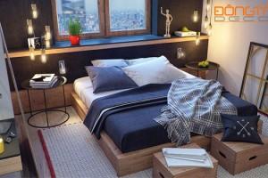 4 mẫu phòng ngủ có thiết kế sáng tạo trong từng chi tiết