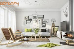 Phong cách Scandinavian trong thiết kế nội thất