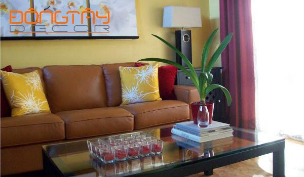 Người mệnh Thổ nên chọn không gian nội thất có màu vàng để đem lại may mắn