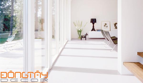 Chiều rộng thông thường của hành lang nên nằm trong khoảng 1-1,3m.