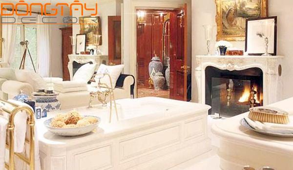 Phòng tắm được bài trí ở đây sẽ mang lại những điều không may mắn cho gia chủ.