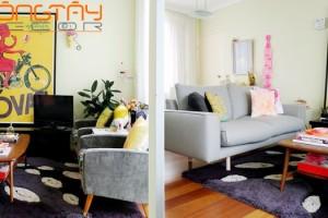 Kiến trúc căn hộ được thiết kế sáng tạo, đầy cảm hứng