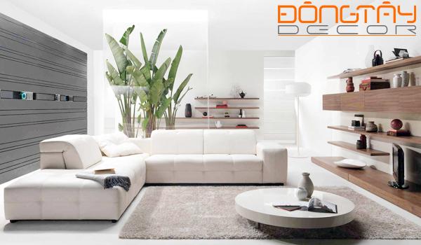 Những yếu tố thiên nhiên sẽ giúp cho phòng khách của gia đình bạn trở nên tươi mới, tràn đầy sức sống.