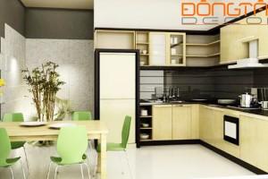 4 lưu ý khi bố trí nội thất bếp ăn theo phong thủy