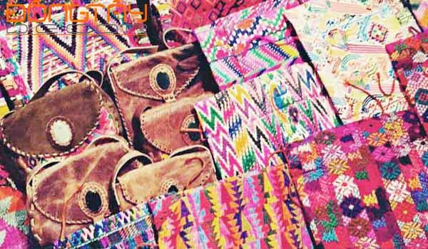 Sản phẩm vải thủ công Guatemala (Trung Mỹ) - cái nôi của nền văn minh Maya