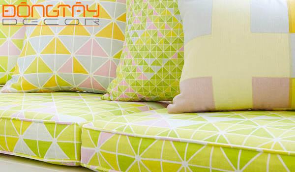 Chất liệu vải với họa tiết phong phú, đa dạng