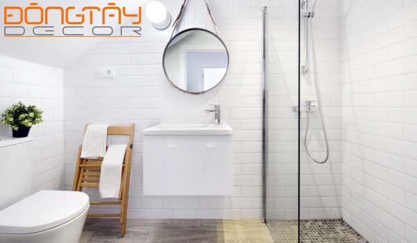 Phòng tắm thiết kế thanh thoát, bắt mắt
