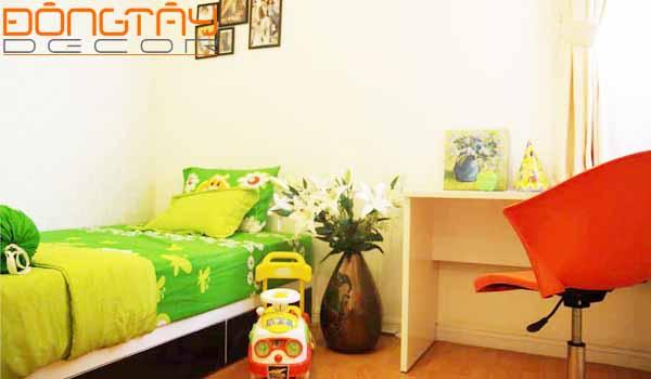Giường ngủ kê sát góc tường có thể tiết kiệm diện tích song theo phong thủy nó không tốt cho tài vận của gia chủ chút nào