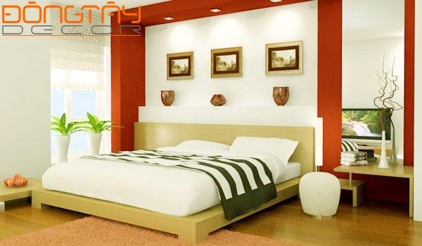 Phòng ngủ được chọn làm khu vực vận may của ngôi nhà