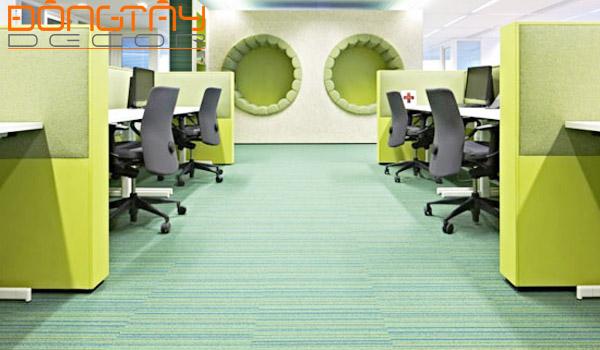 Màu sắc văn phòng phù hợp với hướng văn phòng sẽ khiến cho công ty làm ăn phát đạt, tấn tài tấn lộc.