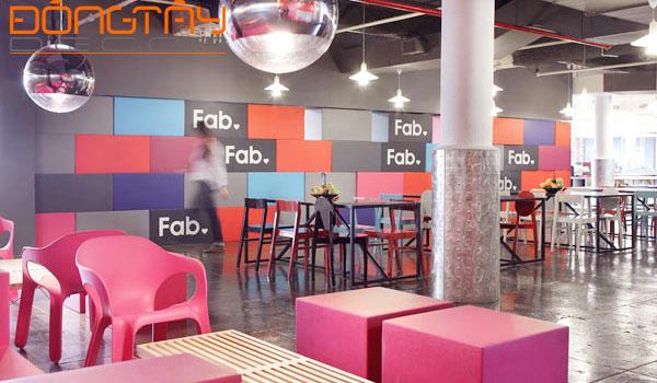 Văn phòng cá tính, nhiều màu sắc