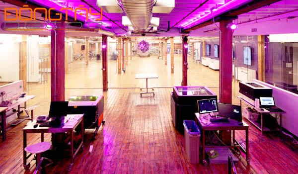 Văn phòng thiết kế theo kiểu một nhà máy phát minh hiện đại