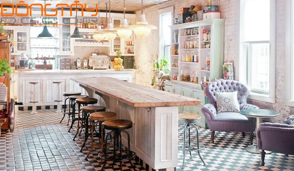 thiết kế nội thất phòng bếp ấn tượng