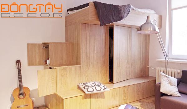 Mẫu thiết kế nội thất chung cư mini đẹp