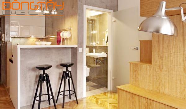 Mẫu thiết kế nội thất chung cư nhỏ đẹp