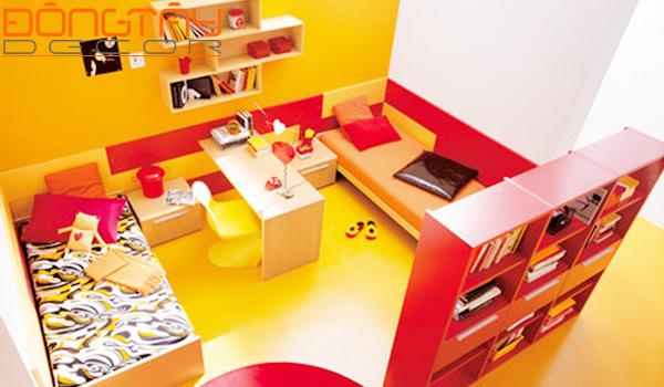 thiết kế nội thất cho người mệnh hỏa