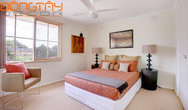 Kê giường ngủ hợp phong thủy mang lại tốt lành cho gia chủ