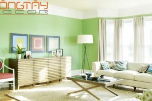Lựa chọn sơn nhà hợp phong thủy dựa vàohướng nhà